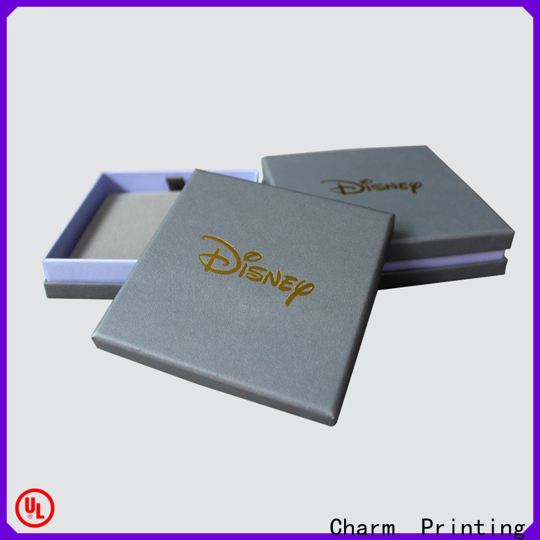 Charm Printing with tray jewelry gift boxes factory price for jewelry packaging