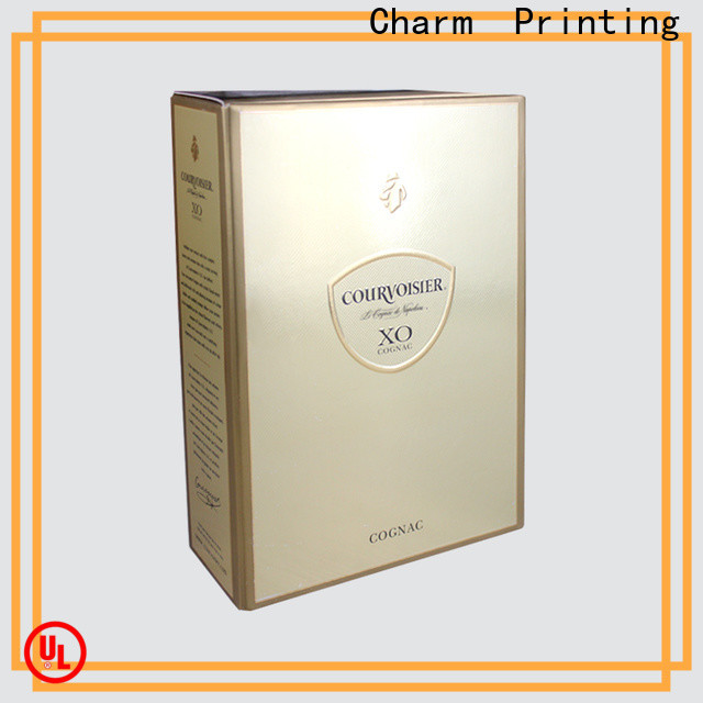 personalized wine packaging box luxury design wine packaging