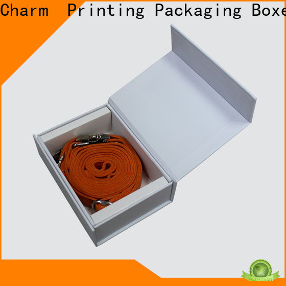 CharmPrinting personalized packaging box supplier for pet products
