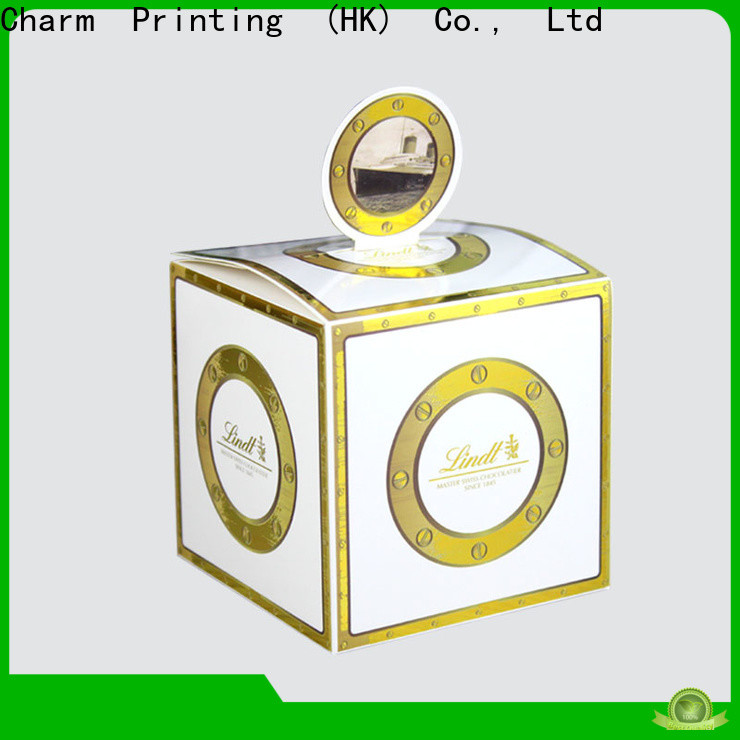 Charm Printing booklet gift packaging for wholesale for gift