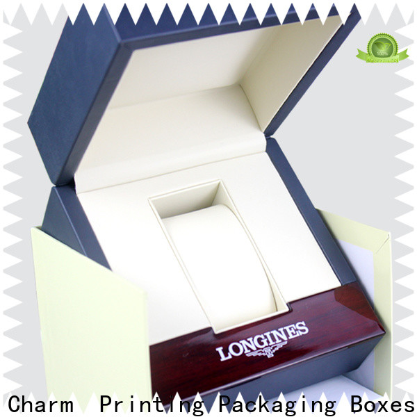 Charm Printing with tray jewelry packaging box luxury design for jewelry packaging