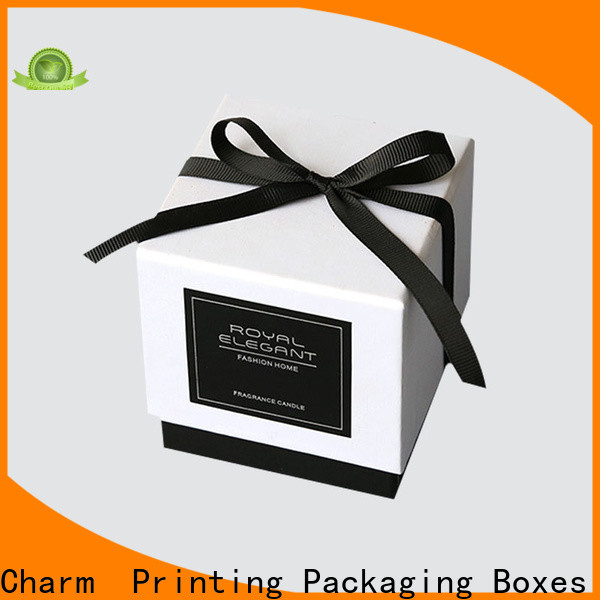 CharmPrinting candle packaging box good for gift gift