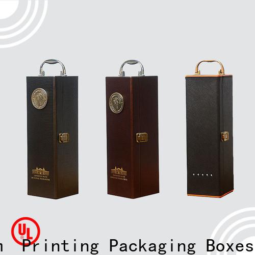 CharmPrinting wine gift box handmade food packaging