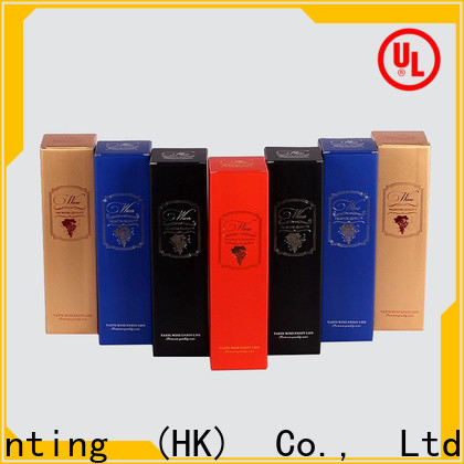CharmPrinting wine packaging box manufacturer alcohol packaging