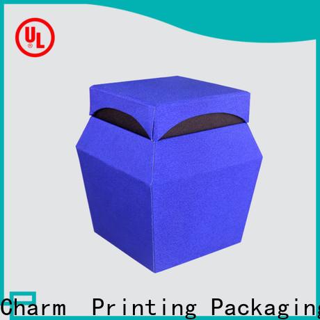 CharmPrinting perfume box free sample for fashion women
