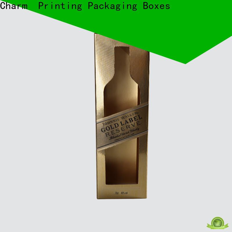 CharmPrinting wine packaging box manufacturer wine packaging