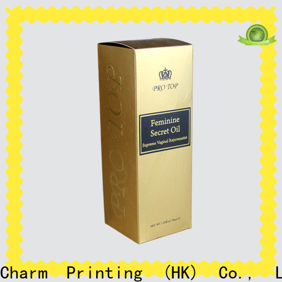 CharmPrinting wine packaging box luxury design alcohol packaging