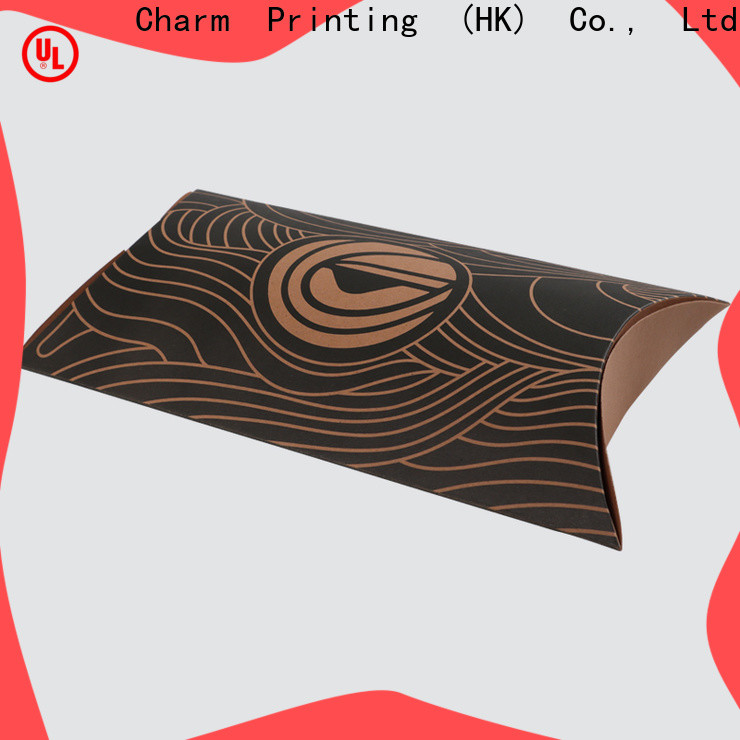 CharmPrinting special shape food packaging boxes handmade for gift