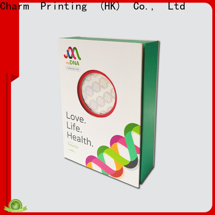 CharmPrinting cardboard gift boxes dental products