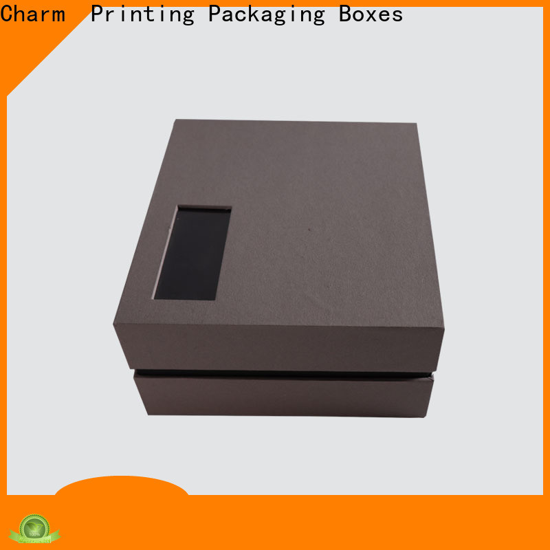 Charm Printing cardboard gift boxes white paperboard for apparel