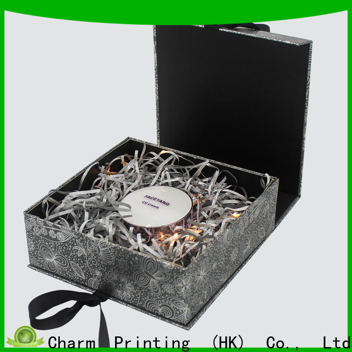 CharmPrinting cosmetic packaging box high quality storage