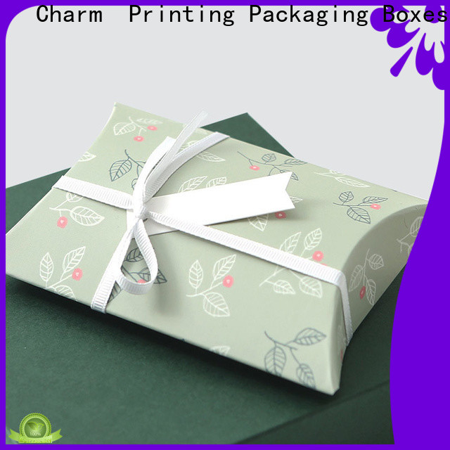Charm Printing manufacturer cardboard gift boxes handmade for clothes