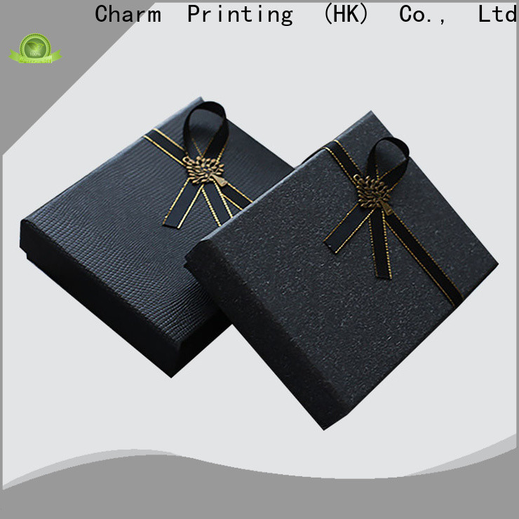 Charm Printing apparel packaging boxes special-shape box for clothes