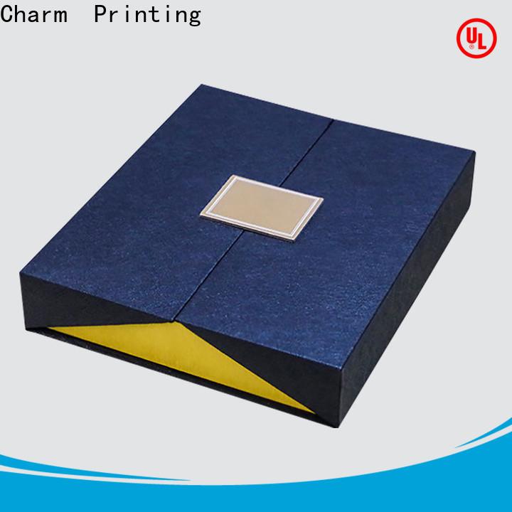 CharmPrinting gift box OEM for festival packaging