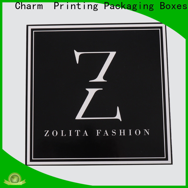 Charm Printing apparel packaging boxes for apparel