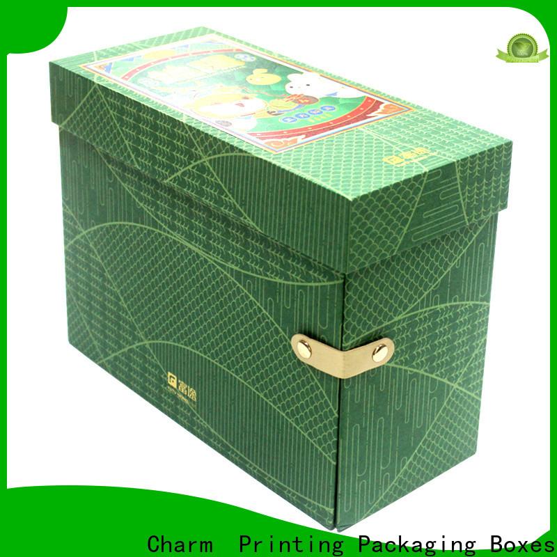 CharmPrinting magnet gift box OEM for packaging