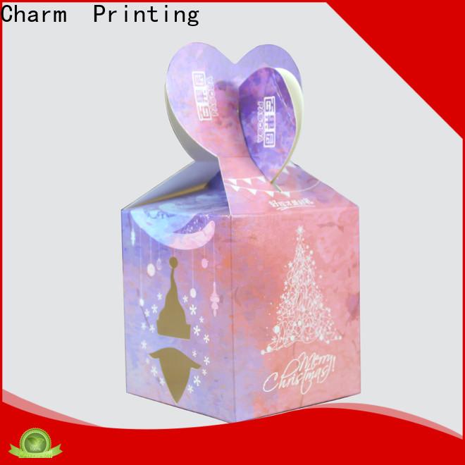 CharmPrinting art paper favor boxes bulk production for gift