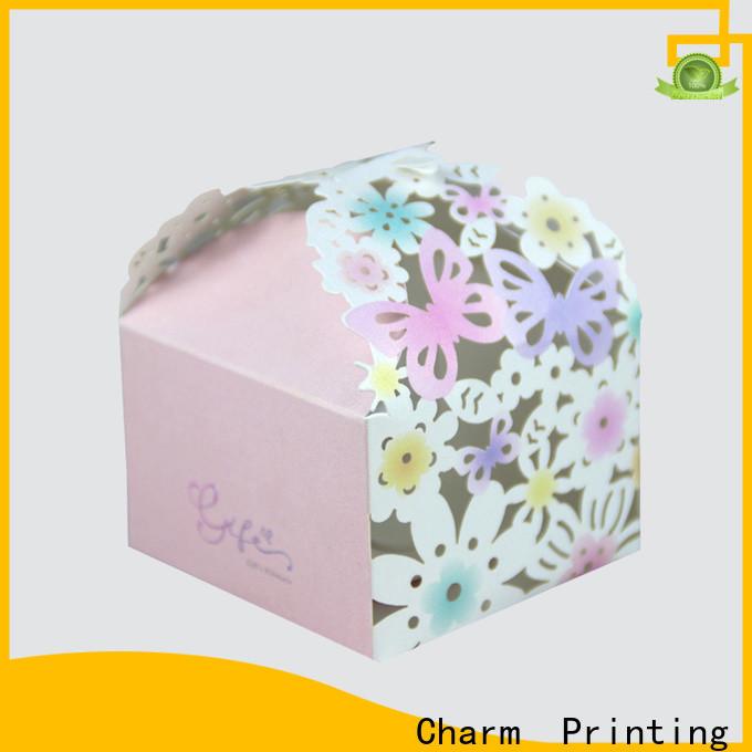 art paper gift packaging bulk production for wedding packaging