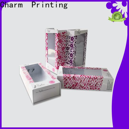 CharmPrinting drawer type magnetic gift box base box gift box