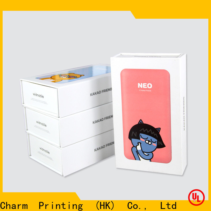 Charm Printing electronics packaging handmade for gift box