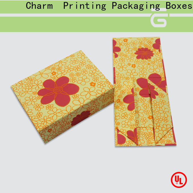 Charm Printing packaging boxes OEM for gifts
