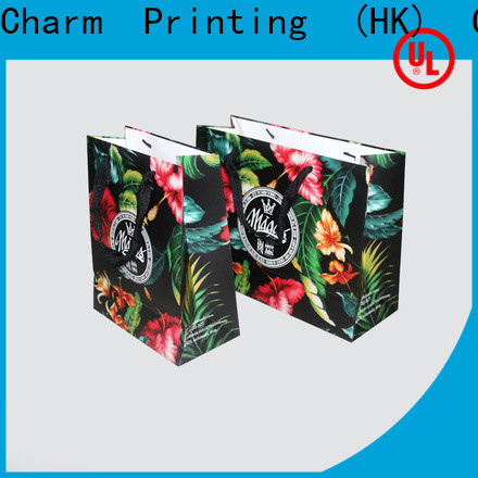 Charm Printing high-quality paper shopping bags fashion design for shopping bag