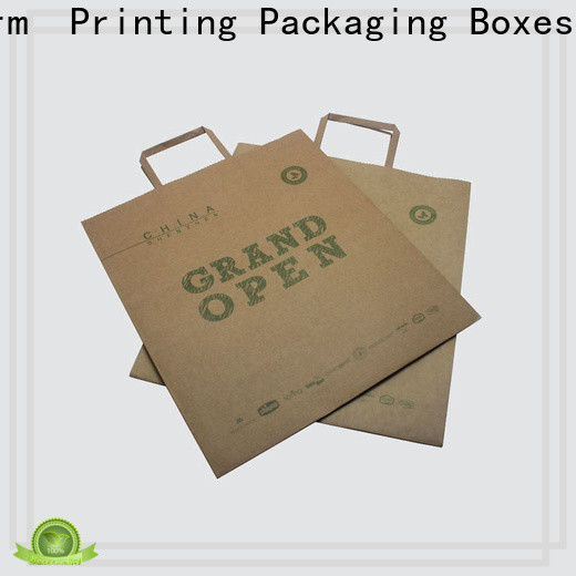 Charm Printing high-quality paper shopping bags fashion design for paper bag