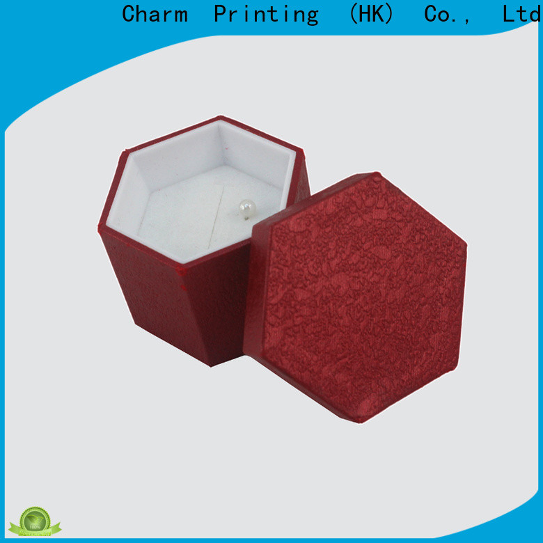 Charm Printing jewelry gift boxes factory price for luxury box