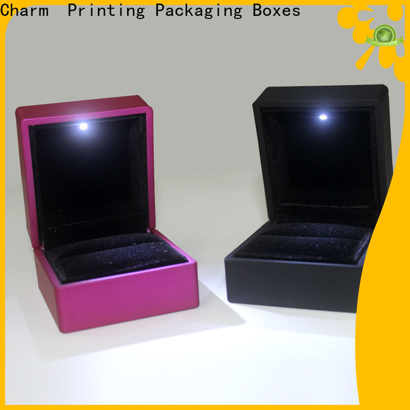 CharmPrinting custom jewelry box factory price for gift box