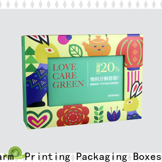 Charm Printing food packaging boxes high quality for gift
