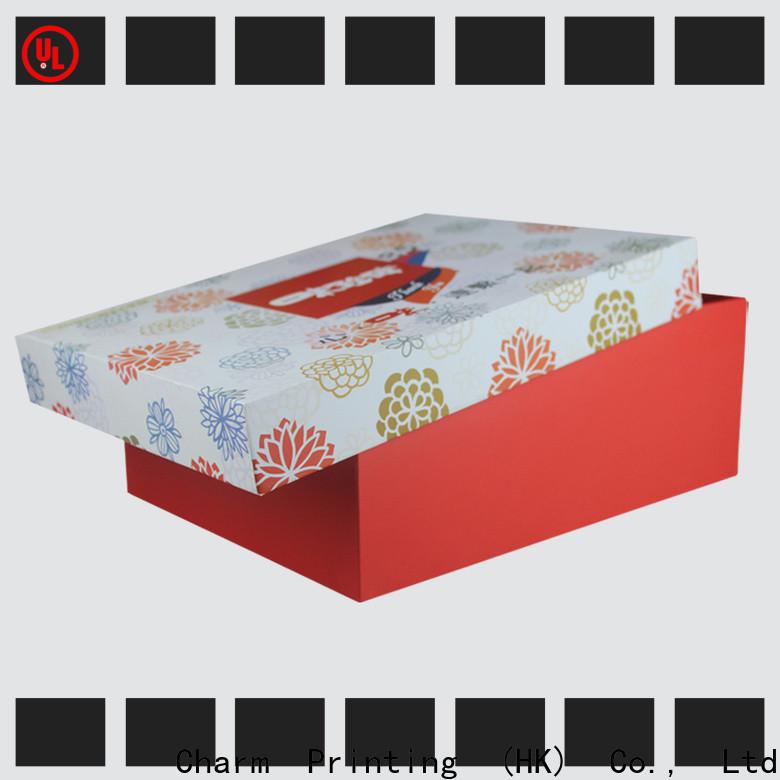 CharmPrinting food packaging boxes handmade for food box