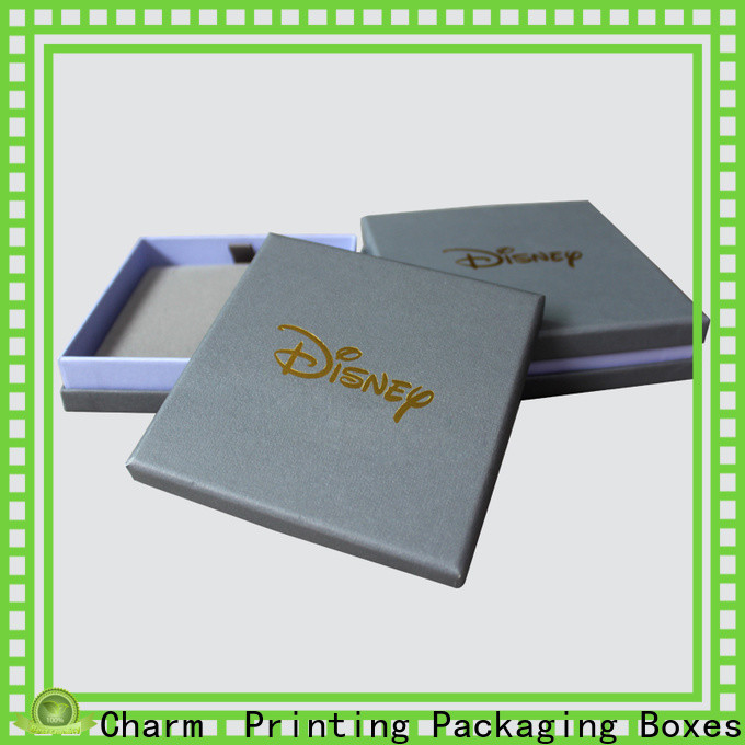 CharmPrinting jewelry packaging luxury design for gift box
