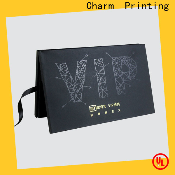 Charm Printing book shape type magnet gift box manufacturer for festival packaging