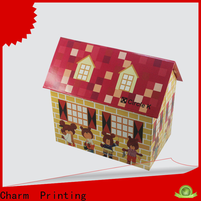 CharmPrinting toy packaging boxes supplier corrugated Box