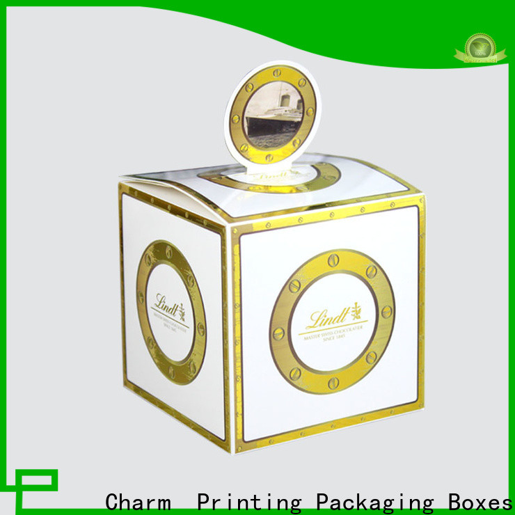 CharmPrinting art paper wedding favour boxes for wholesale for gift