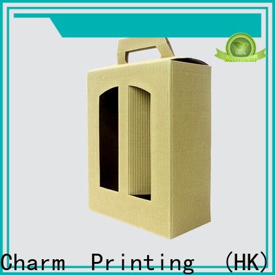 Charm Printing wine packaging box handmade wine packaging