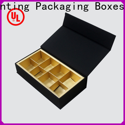 custom lid chocolate packaging foil stamping gift box