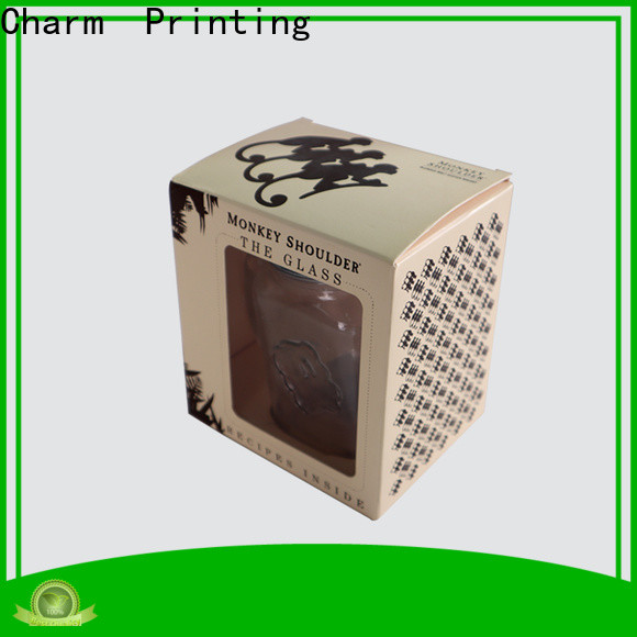 CharmPrinting silk printing candle packaging box on-sale