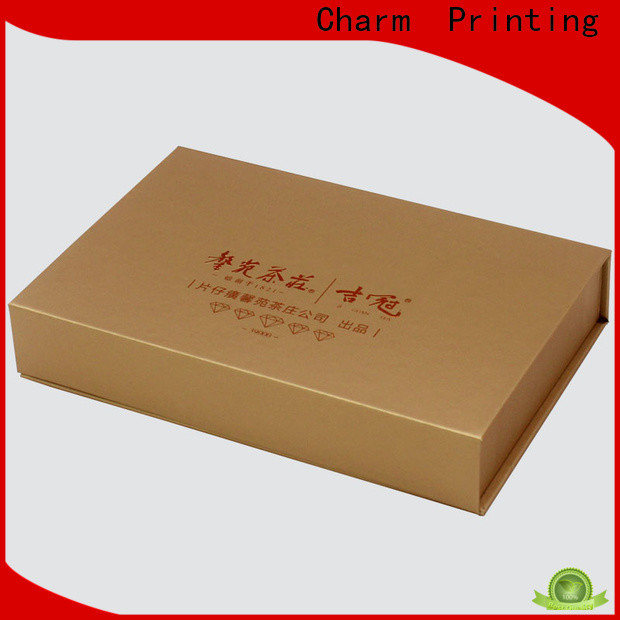 CharmPrinting special shape pillow box high quality for food packaging