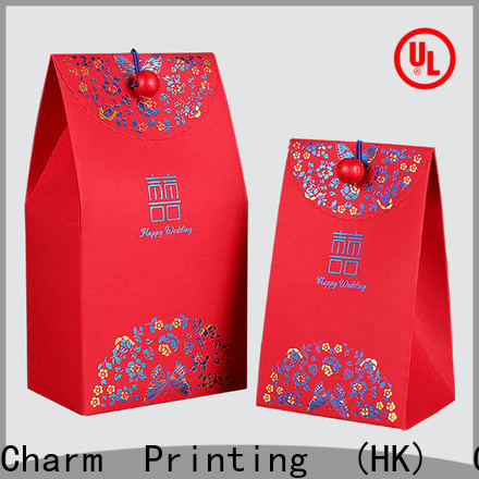 CharmPrinting custom wedding favour boxes bulk production for wedding packaging