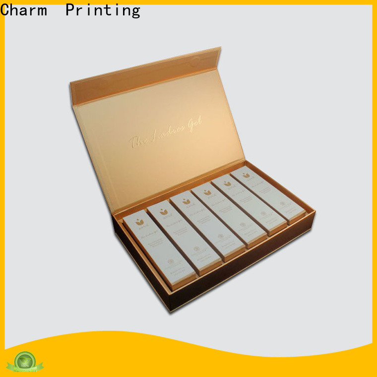 Charm Printing handmade cosmetic packaging uv printing storage
