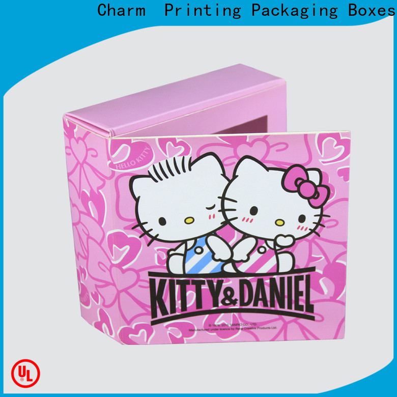 CharmPrinting luxury chocolate box automatic slide gift box