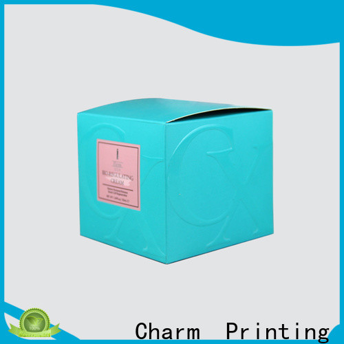 coloful cosmetic packaging uv printing storage