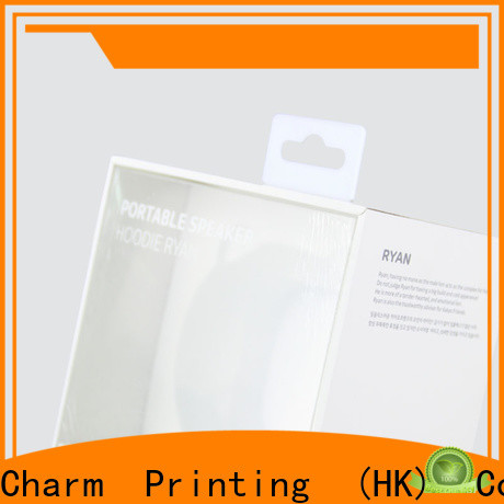CharmPrinting special-shape packaging box craft paper for electronic produts
