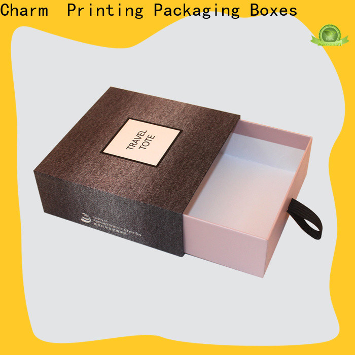 drawer type perfume packaging box free sample for fashion women