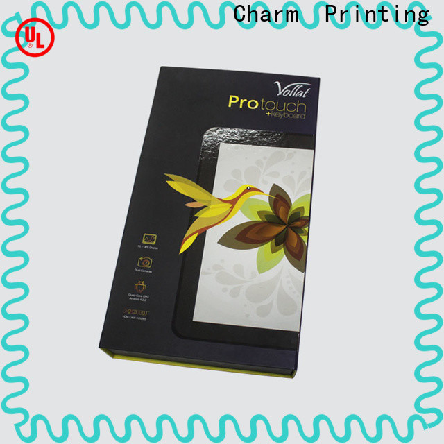 CharmPrinting food packaging boxes high quality for gift