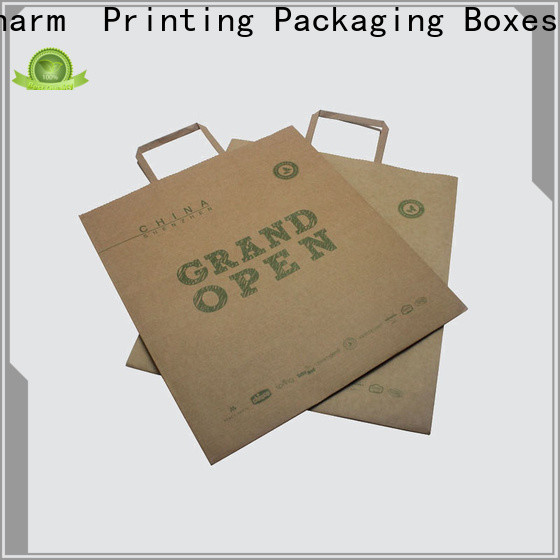 CharmPrinting paper gift bags on-sale for shopping bag