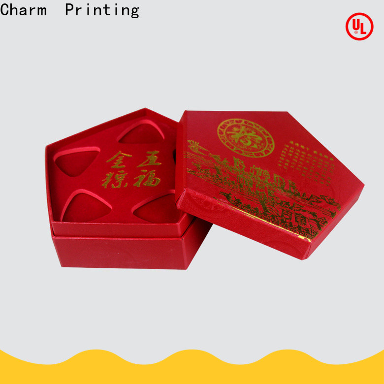 CharmPrinting jewelry packaging luxury design for luxury box