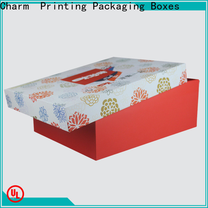with tray pillow box handmade for food packaging