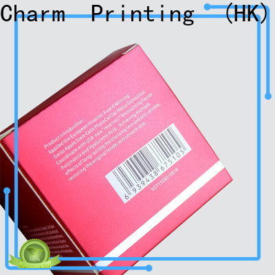 Charm Printing cosmetic box offset printing storage